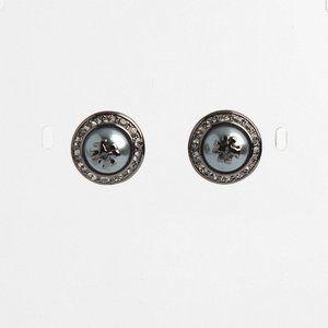 🔥Tory Burch Fashion Pearl Diamond Stud Earrings